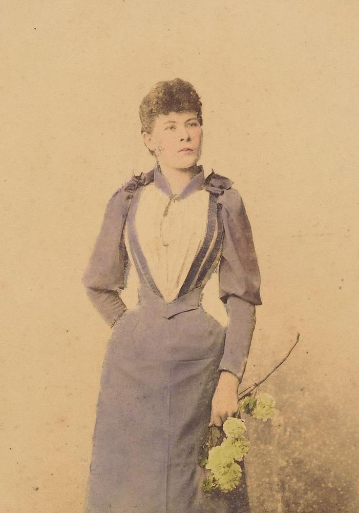 Maria Kaunitz, ca. 1890. 