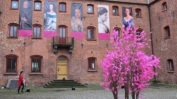 Alexandra von Schwerin på Skarhults borggård