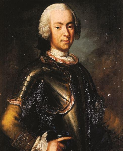 Erik Brahe, one of King Adolf Fredrik's confidantes.