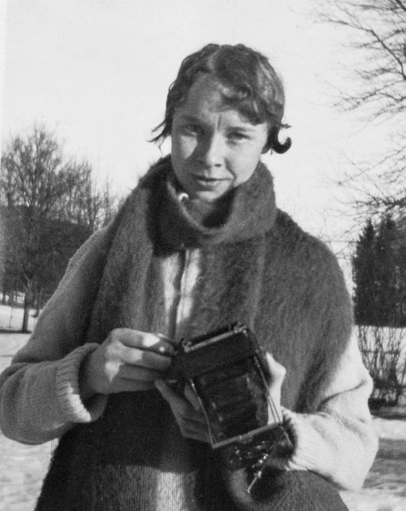 Ester Blenda Nordström in action.