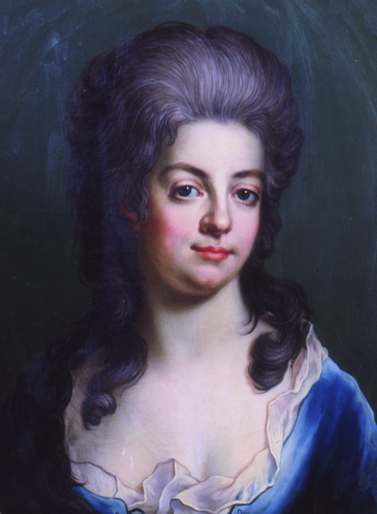Ulrika Katarina Koskull, 1782. Oil on canvas signed by Biörk pinxit.
