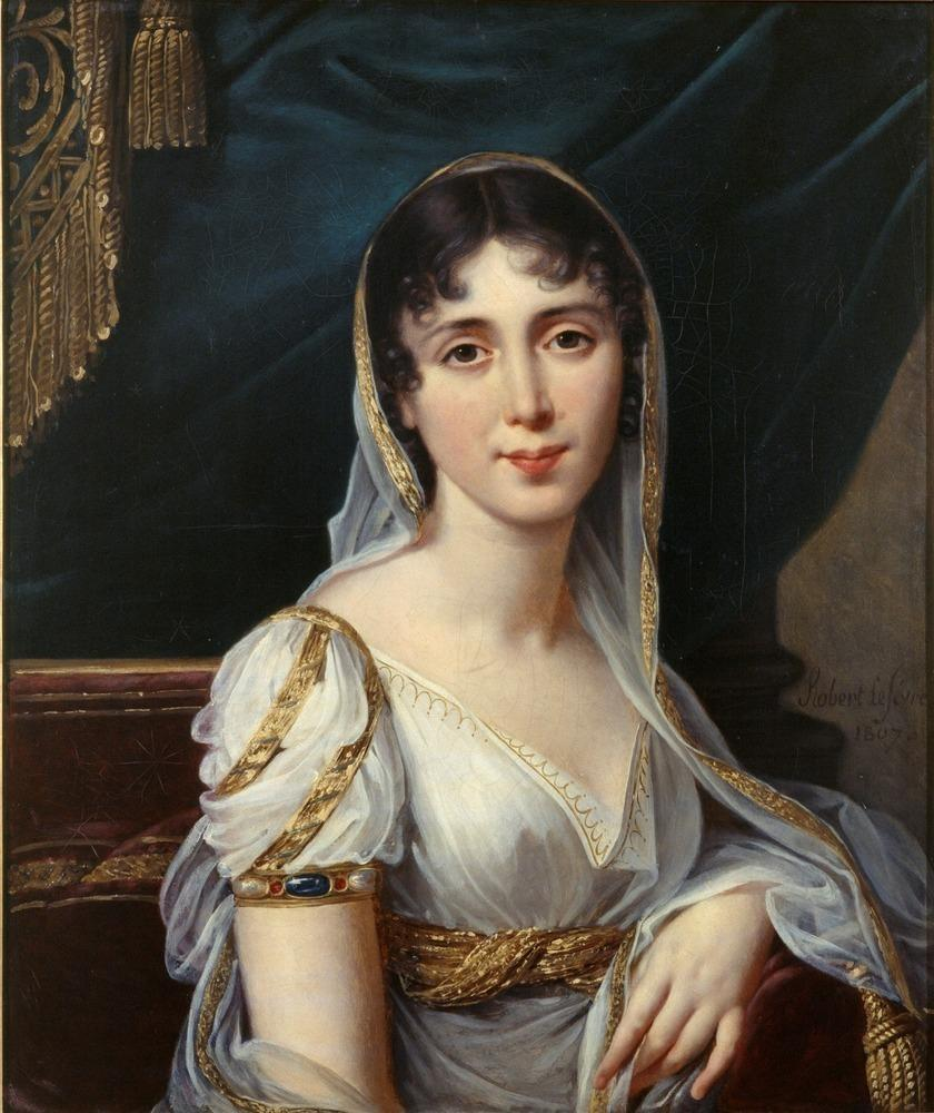 Désirée Clary, 1807. Oil on canvas by Robert Lefèvre.