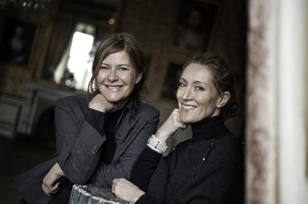 Eva Canebro och Maria Kullenberg.